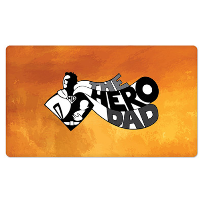 Fridge Magnet Rectangle - Hero Dad